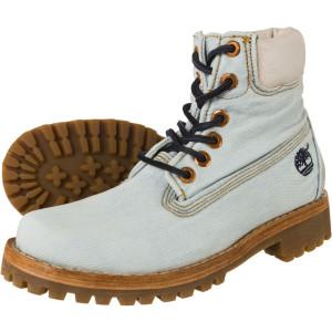 מגפיים טימברלנד לנשים Timberland LTD FABRIC 6IN - ג'ינס בהיר