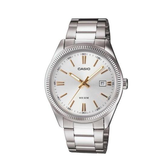 שעון קסיו לגברים CASIO MTP_1302D - כסף