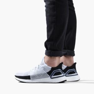 נעליים אדידס לגברים Adidas UltraBoost - לבן/שחור
