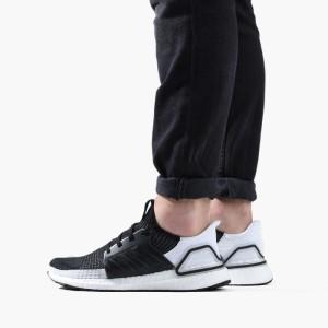 נעליים אדידס לגברים Adidas UltraBoost - שחור/לבן