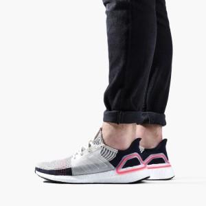 נעליים אדידס לגברים Adidas UltraBoost - אפור/שחור