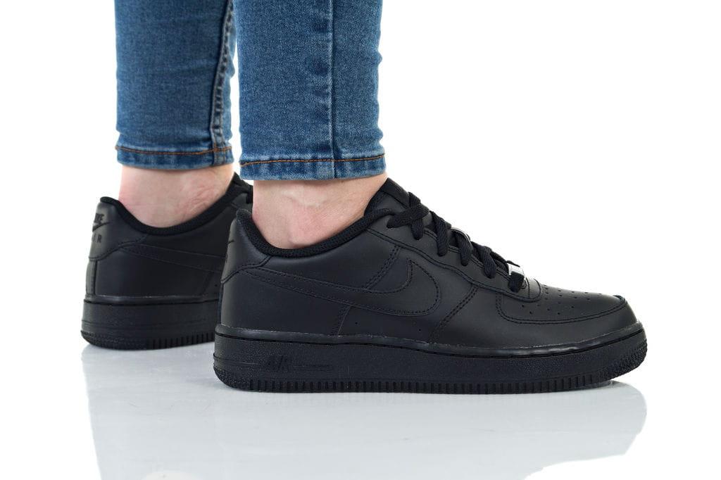 נעליים נייק לנשים Nike AIR FORCE 1 - שחור מלא