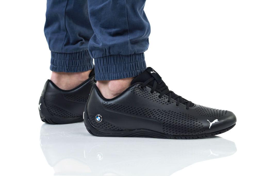 נעליים פומה לגברים PUMA BMW MMS DRIFT CAT 5 ULTRA II - שחור