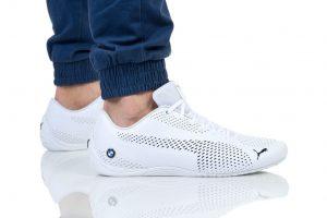 נעליים פומה לגברים PUMA BMW MMS DRIFT CAT 5 ULTRA II - לבן