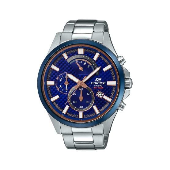 שעון אדיפיס לגברים EDIFICE EFV_530DB_2A - כחול
