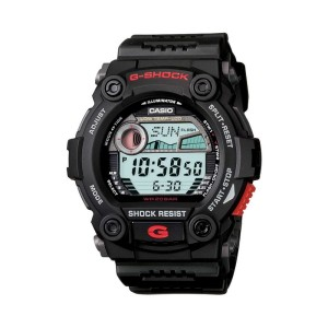 אביזרים קסיו ג'י-שוק לגברים CASIO G-SHOCK G_7900 - שחור/אדום
