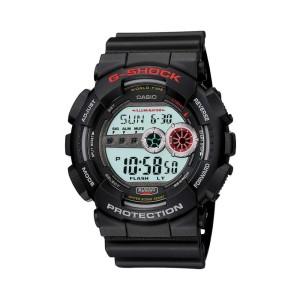 אביזרים קסיו ג'י-שוק לגברים CASIO G-SHOCK GD_100 - שחור/אדום
