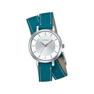 שעון קסיו לנשים CASIO LTP_E143DBL - טורקיז