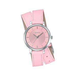 שעון קסיו לנשים CASIO LTP_E143DBL - ורוד