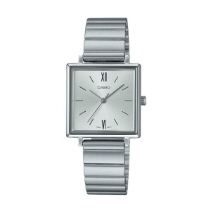 שעון קסיו לנשים CASIO LTP_E155 - כסף