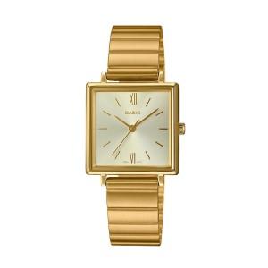 שעון קסיו לנשים CASIO LTP_E155 - זהב