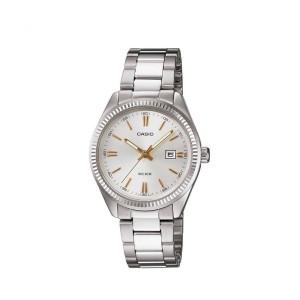 שעון קסיו לנשים CASIO LTP_1302D - לבן