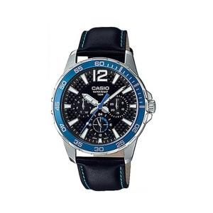 שעון קסיו לגברים CASIO MTD_330L - כחול