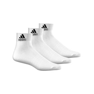 אביזרי ביגוד אדידס לנשים Adidas PER ANKLE T 3PP - לבן מלא