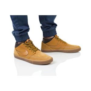 נעליים נייק לגברים Nike SB PORTMORE II SLR - חום