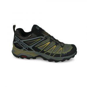 נעליים סלומון לגברים Salomon X Ultra 3 Gtx - ירוק