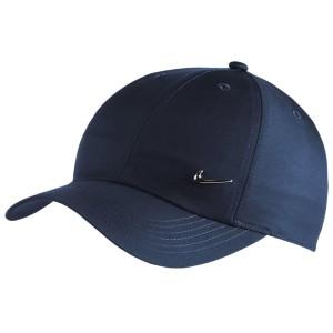 אביזרי ביגוד נייק לנשים Nike Y NK H86 CAP METAL SWOOSH - כחול כהה