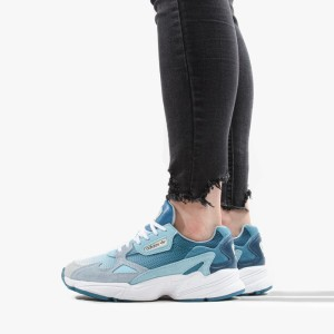 נעליים Adidas Originals לנשים Adidas Originals Falcon - תכלת