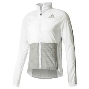 ביגוד אדידס לגברים Adidas Adizero Track - לבן