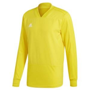 ביגוד אדידס לגברים Adidas Condivo 18 Training Player Focus - צהוב
