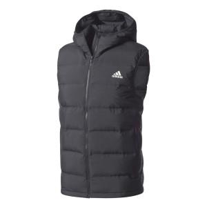 בגדי חורף אדידס לגברים Adidas Helionic Down Hooded - שחור
