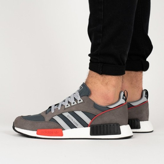 נעליים Adidas Originals לגברים Adidas Originals Bostonsuper x R1 - אפור/כתום