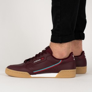 נעליים Adidas Originals לגברים Adidas Originals Continental 80 - בורדו