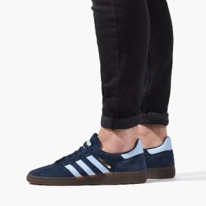 נעלי סניקרס אדידס לגברים Adidas Originals Handball Spezial - כחול כהה