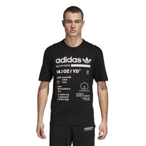 ביגוד Adidas Originals לגברים Adidas Originals Kaval GRP Tee - שחור