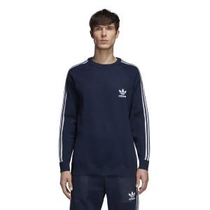 ביגוד Adidas Originals לגברים Adidas Originals Knit Crew - כחול