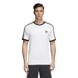 חולצת T אדידס לגברים Adidas Originals Adicolor - לבן