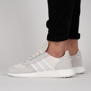 נעליים Adidas Originals לגברים Adidas Originals Marathon x - אפור/לבן