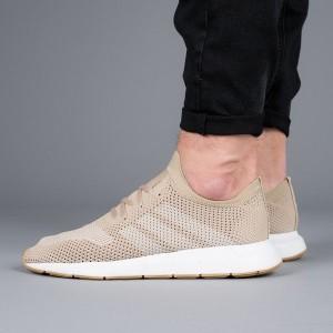 נעליים Adidas Originals לגברים Adidas Originals Swift Run Primeknit - בז'