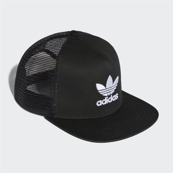 אביזרי ביגוד Adidas Originals לגברים Adidas Originals Trefoil Trucker - שחור