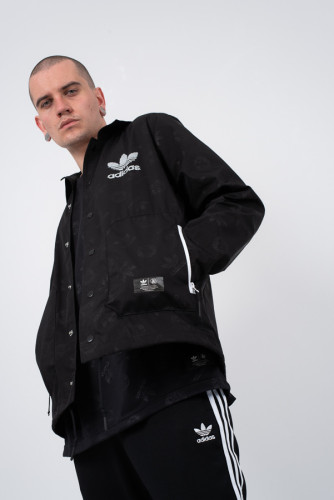 בגדי חורף Adidas Originals לגברים Adidas Originals  X UA&Sons Game - שחור
