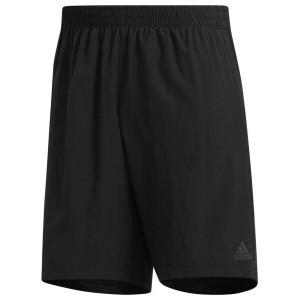ביגוד אדידס לגברים Adidas Own The Run 2 In 1 7 - שחור