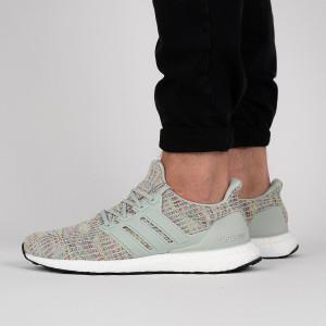נעליים אדידס לגברים Adidas UltraBoost - ירוק בהיר