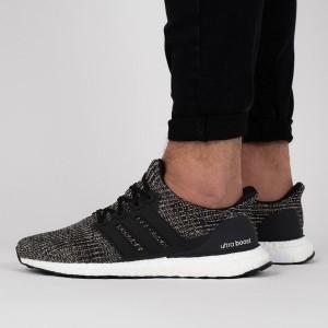 נעליים אדידס לגברים Adidas UltraBoost - אפור כהה