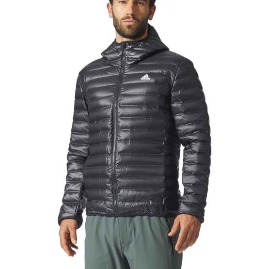 בגדי חורף אדידס לגברים Adidas Varilite Hooded - שחור
