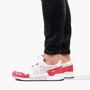 נעליים אסיקס לגברים Asics Gel-Lyte - לבן/אדום