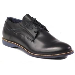 נעליים אלגנטיות בדורה לגברים Badura 3097 372 - שחור