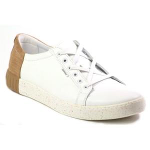 נעליים בדורה לגברים Badura 3356 1021 - לבן