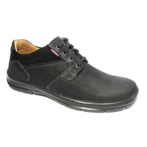 נעליים אלגנטיות בדורה לגברים Badura 3509549 - שחור