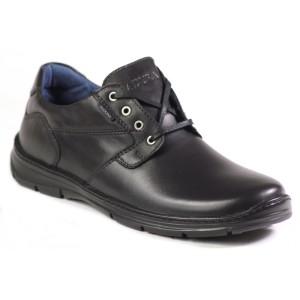 נעליים אלגנטיות בדורה לגברים Badura 3509 - שחור