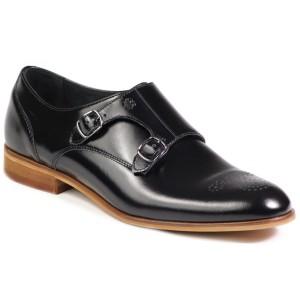 נעליים אלגנטיות בדורה לגברים Badura 7672 914 - שחור