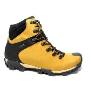 נעלי טיולים בדורה לגברים Badura Sympatex - צהוב
