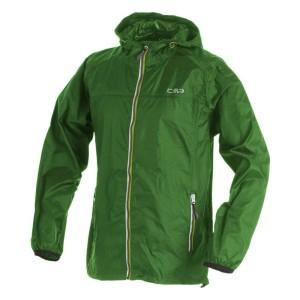בגדי חורף סמפ לגברים CMP  Fix Hood Jacket - ירוק