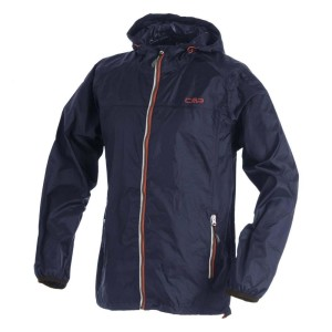 בגדי חורף סמפ לגברים CMP  Fix Hood Jacket - כחול