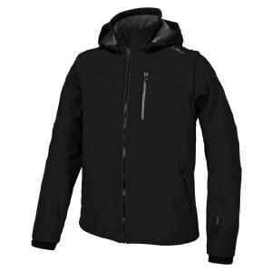 בגדי חורף סמפ לגברים CMP  Jacket Snaps Hood With Detechable Sleeves - כחול