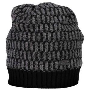 אביזרי ביגוד סמפ לגברים CMP  Knitted Hat-7 - אפור/שחור